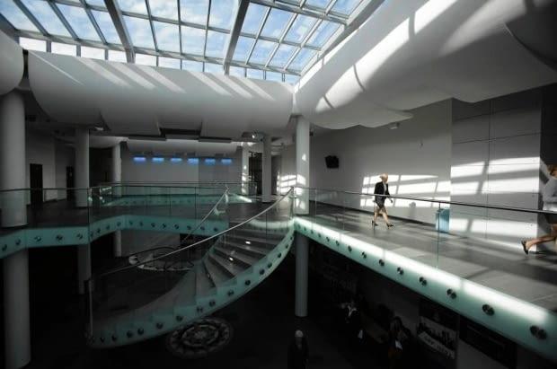 Biblioteki i centrum audytoryjno-informacyjne Akademii Marynarki Wojennej w Gdynii