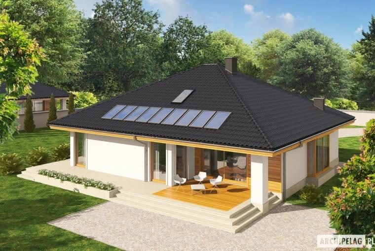 Projekt domu Flori III G1 (wersja A)