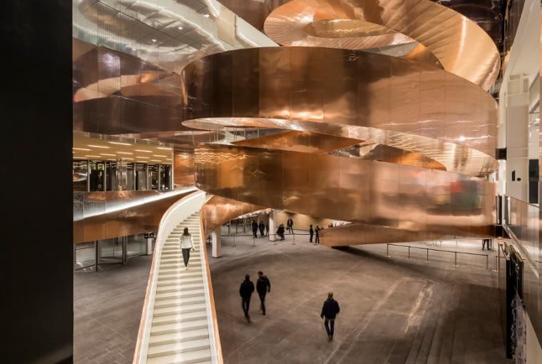 Miedź w architekturze