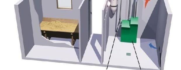 Gotowa instalacja pneumatycznie pobierająca i transportująca paliwo