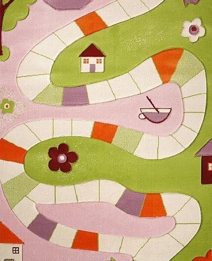 Interaktywny dywan, design, pokój dziecięcy