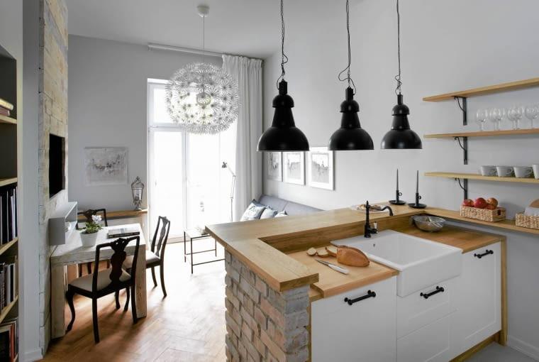 mieszkanie, kawalerka,otwarta kuchnia