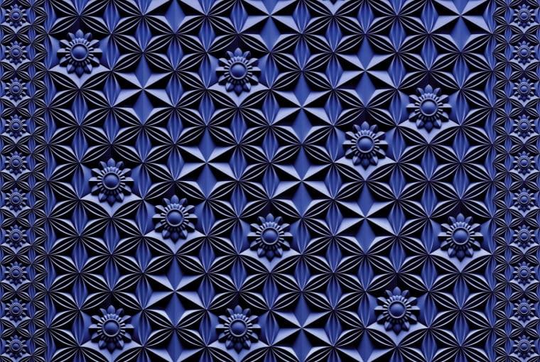 Crystal Rose trójwymiarowa kompozycja autorstwa Marcela Wandersa, Moooi Carpets.