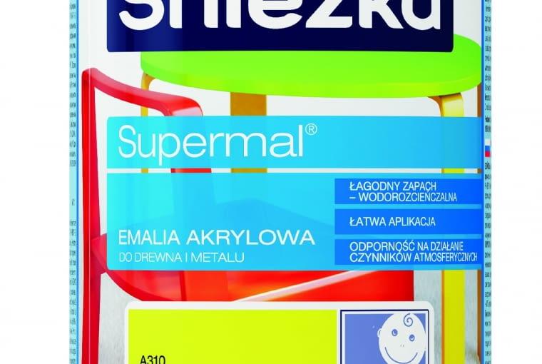 SUPERMAL EMALIA DO PCV, akrylowa 26,50 zł/0,75 l Śnieżka