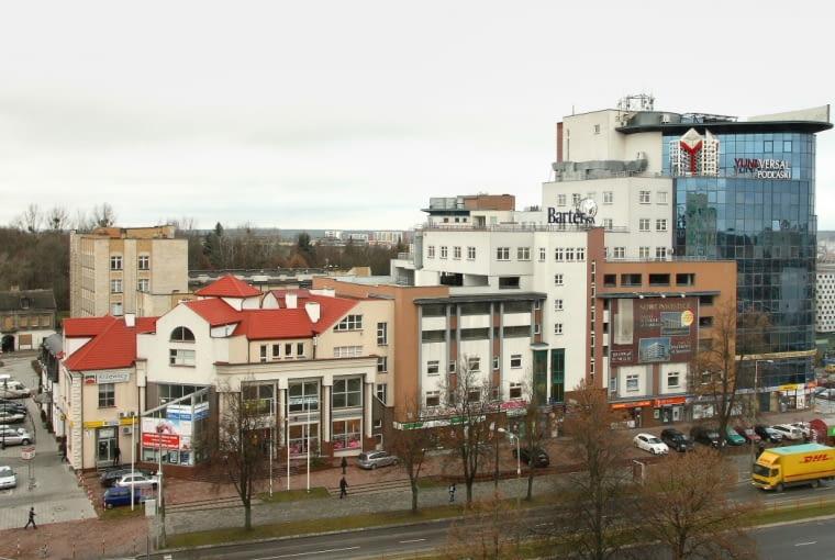 Chaotyczna zabudowa w Białymstoku