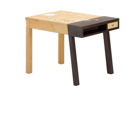 biurko Porcupine; projekt: Hella Jongerius dla Vitra