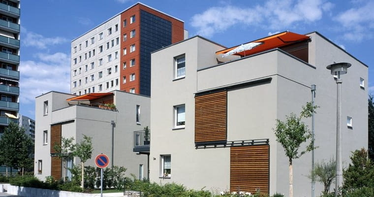 Cottbus, osiedle Sachsendorf-Madlow