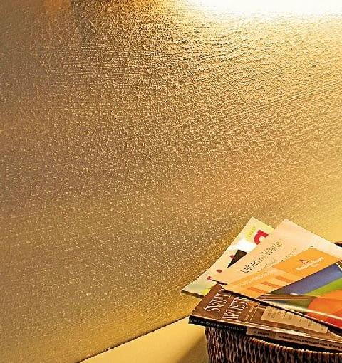 Farba strukturalna dająca efekt piasku