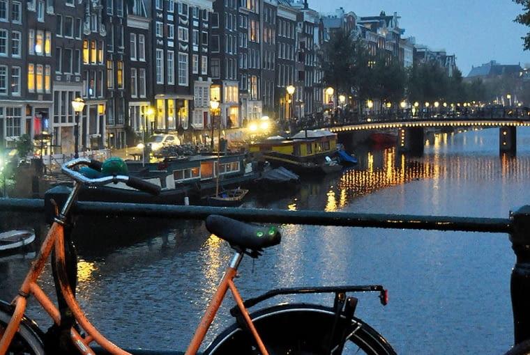 Kanały, Amsterdam
