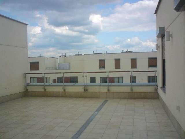 taras, balon, ogrody na dachu