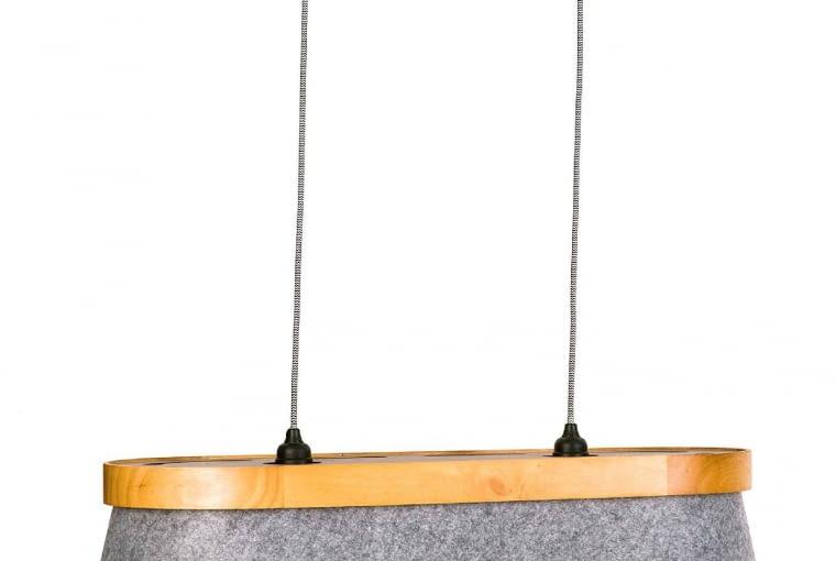 NAD WYSPĘ. Lampa wisząca Feltri, 469 zł, Agata