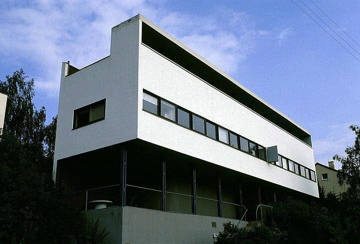 modernistyczne osiedle mieszkalne Weissenhof w Stuttgarcie, 1927