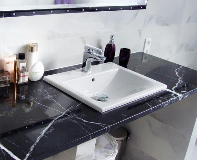 Montaż Umywalki Blatowej Wycinanie Otworu W Blacie I