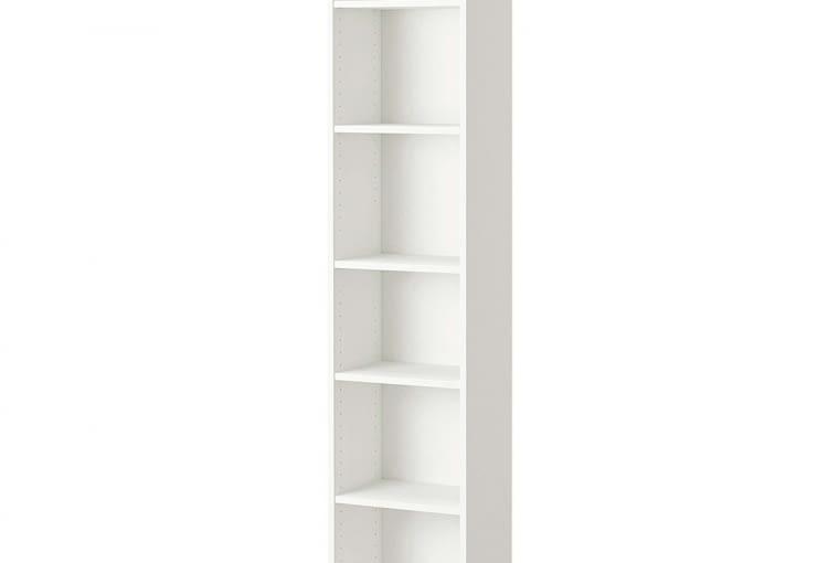 Regał, płyta meblowa, 40 x 28 cm, wys. 202 cm, 129 zł, IKEA