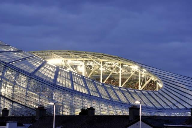 Aviva Stadium, Dublin, Irlandia, 2007-2010, proj. Populous i Scott Tallon Walker