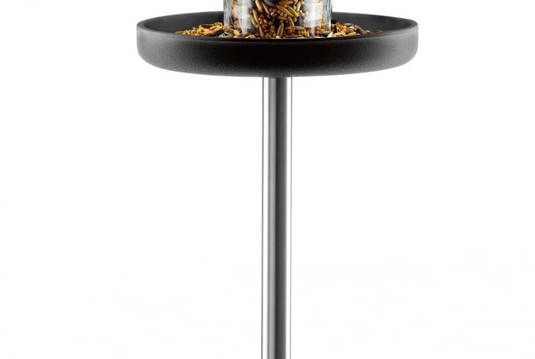 EVA SOLO TABLE, stal, szkło i nylon, śr. 25 cm, wys. 121 cm, 484 zł, CzerwonaMaszyna.pl