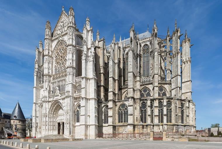 Katedra, Beauvais, fot. Diliff, CC BY-SA 3.0