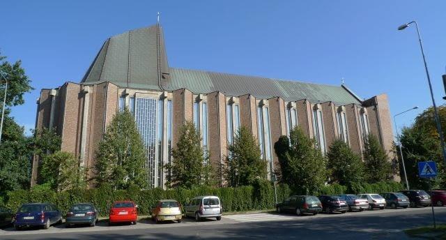 Kościół pod wezwaniem św. Dominika, Warszawa, proj. Władysław Pieńkowski