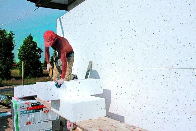 Styropian przeznaczony na fasadę