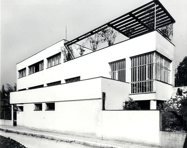 dom dr. Karla Kytlicy, architekt Josef Goeár, 1933, Osiedle Baba. Plany i modele, Tomáš Šenberger, Vladim~r Šlapeta, Petr Urlich, Muzeum Architektury we Wrocławiu, 2002, s. 169