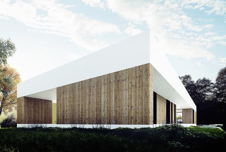 Dom nad Czarną Przemszą. Proj. MUS Architects.