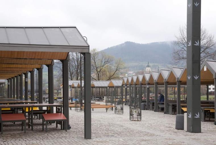 Plac Targowy w Mszanie Dolnej