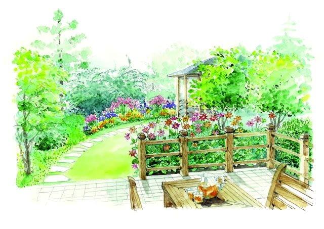 Ogród od zera, projekt ogrodu, projektowanie, projekt z niespodzianką