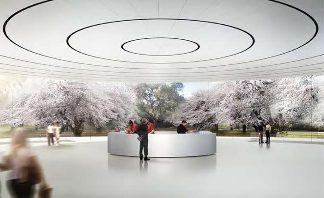 Wizualizacja nowego kampusu Apple