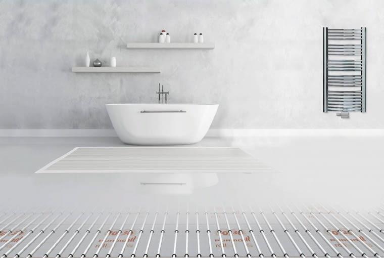 PURMO ROLLJET, system wodnego ogrzewania podłogowego, Purmo, cena: 98-117 zł/m kw.