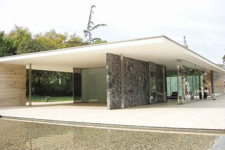 niemcy, modernizm, mies van der rohe, pawilon, berlin, dom