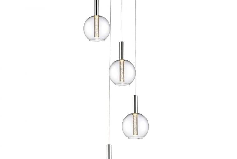 Lampa EIRENE, metal i szkło, diody LED, 629 zł, Agata