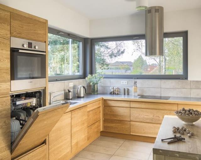 kuchnia, okno w kuchni