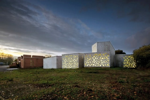Muzeum Sztuki Nowoczesnej Miasta Lille (LaM, Lille Métropole Musée d'art moderne, d'art contemporain et d'art brut), Lille, Francja, proj. Manuelle Gautrand