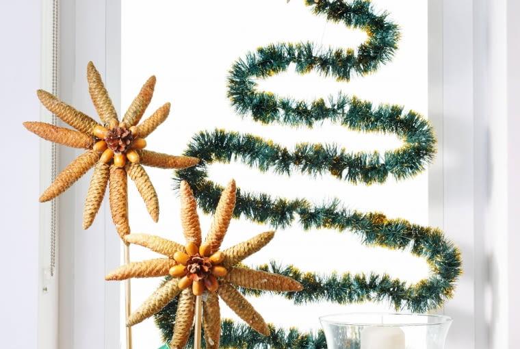 Inna choinka, alternatywa choinki, pomysł na świąteczne drzewko, bożonarodzeniowe dekoracje