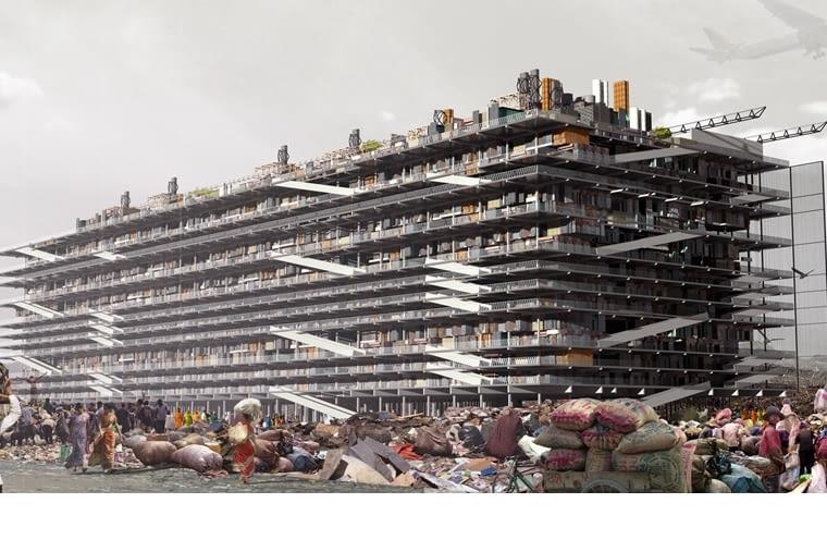 Projekt Hugona Kowalskiego zakłada budowę jednostki, w której ludzie nie tylko będą mogli mieszkać, ale równocześnie pracować