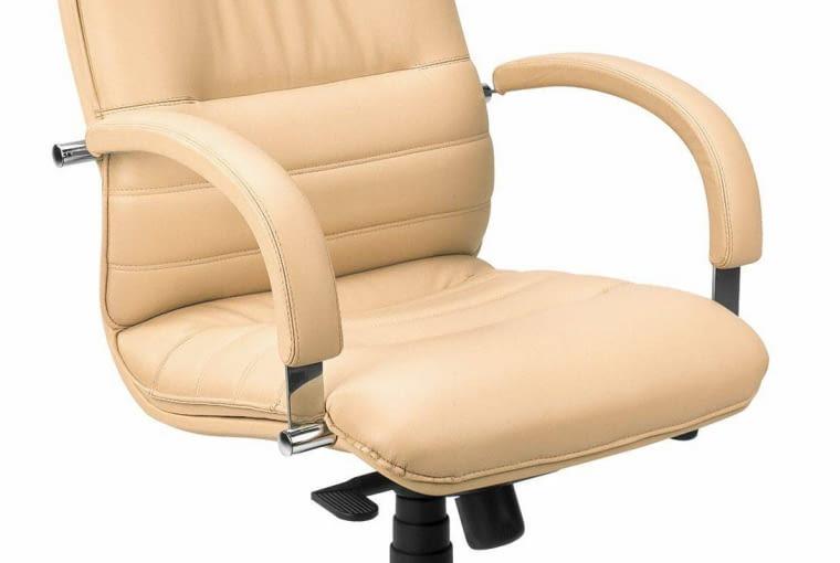PASUJE TU TAKŻE... Fotel, aluminium, obicie ze skóry nowystyl.pl 1250 zł