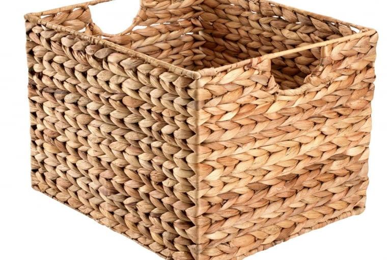 W stronę klasyki: Koszyk, włókna hiacynta wodnego, 59,95 zł, Jysk