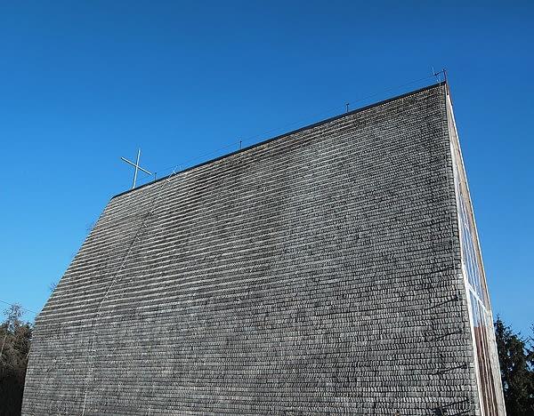 Kościół Votum Aleksa w Tarnowie beton