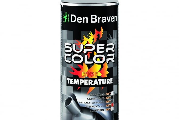 SUPER COLOR High Temperature, Den Braven 25 zł/0,4 l Leroy Merlin