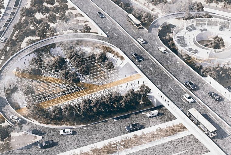Most dla mostu. Projekt koncepcyjny zagospodarowania warszawskich podmości