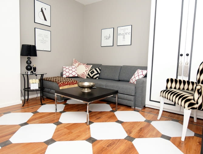 Pokój jak malowany. Szybki i tani sposób na metamorfozę małego wnętrza