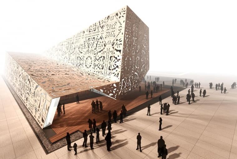 Pawilon Polski na Światową Wystawę EXPO 2010 w Szanghaju proj. WWAA Architects: Natalia Paszkowska, Marcin Mostafa
