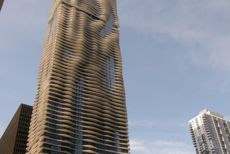 studio gang architects, chicago, wieżowce, wieżowiec, usa, jeanne gang, aqua tower