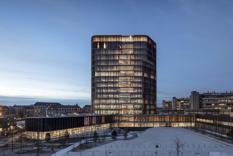 Budynek Maersk w Kopenhadze w Danii