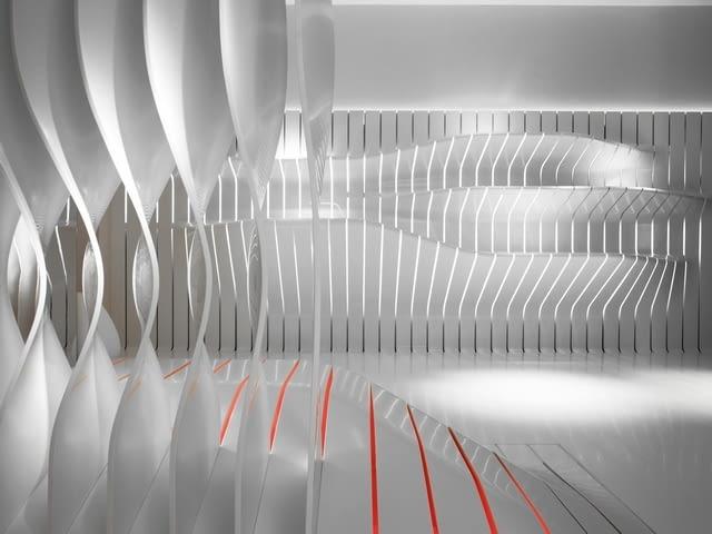 corian, dupont, architektura, Amanda Levete Architects