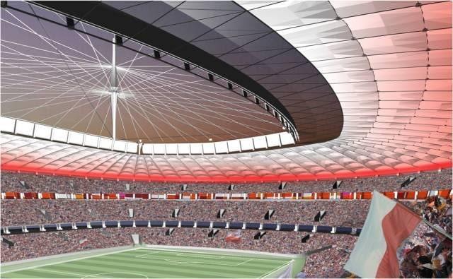 Stadion Narodowy od środka