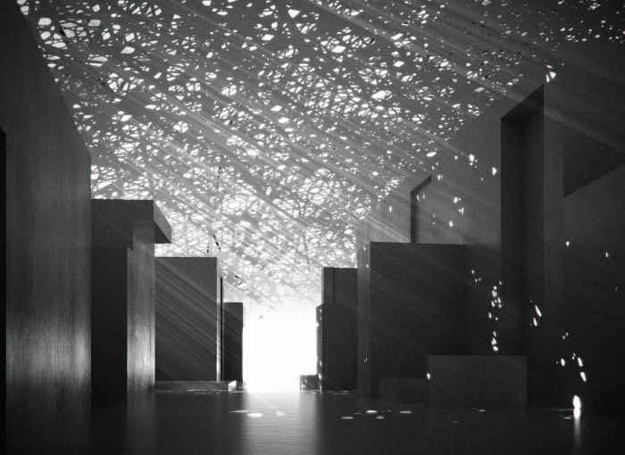 jean nouvel, zjednoczone emiraty arabskie, muzeum, abu dhabi, louvre, louvre abu dhabi