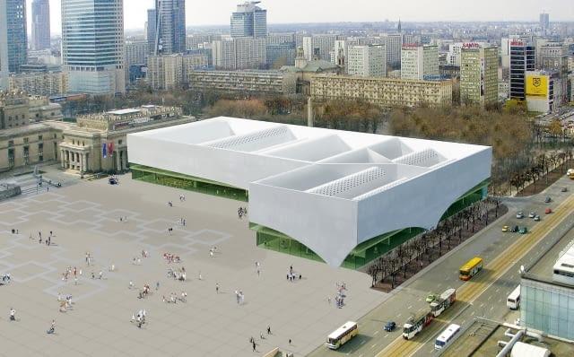 Tak wygląda ostateczna koncepcja budynku Muzeum Sztuki Nowoczesnej