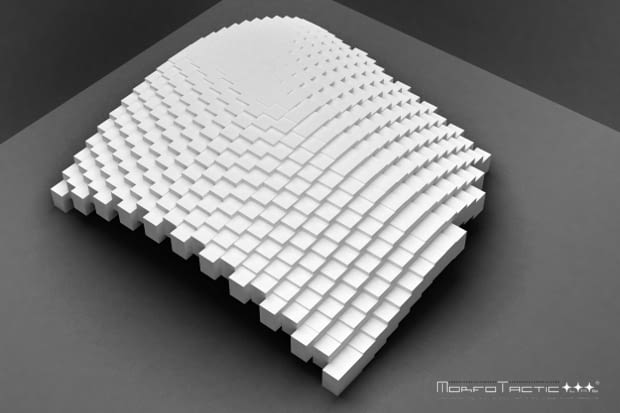 Wizualizacja projektu struktury KartonowePudła