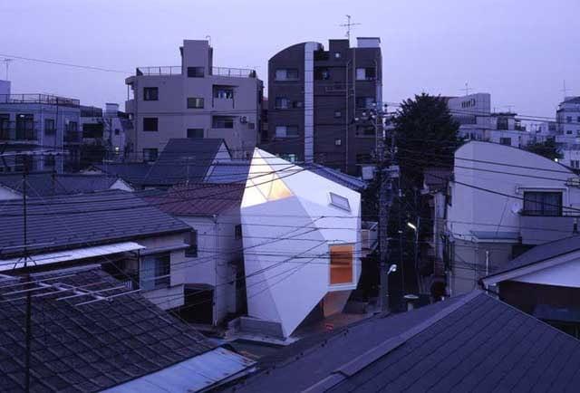 Atelier Tekuto, Reflection of Mineral, dom, dom jednorodzinny, tokio, japonia